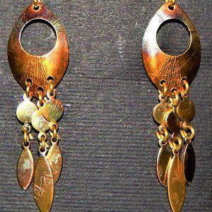 Czech Dangle Earrings By Zina Richterova